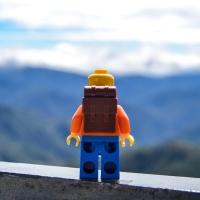 Lego Man travels Philippines